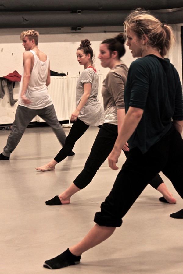 Sol Sandberg underviser Danseuddannelsen