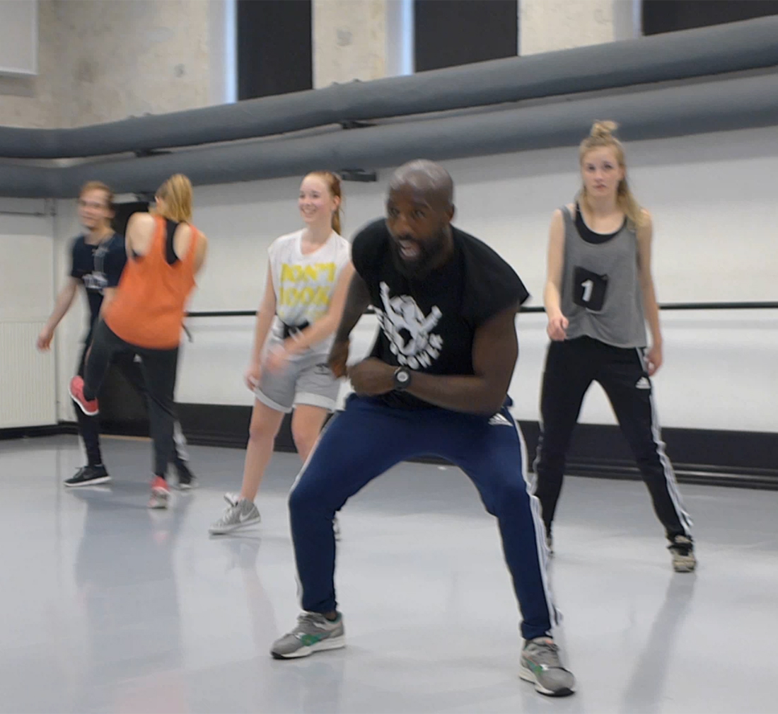 Hip Hop Workshop med Bruce Blanchard