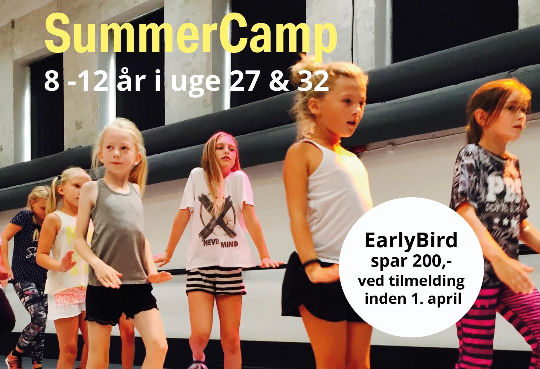 SummerCamp 8-12 år & Teen EARLY BIRD