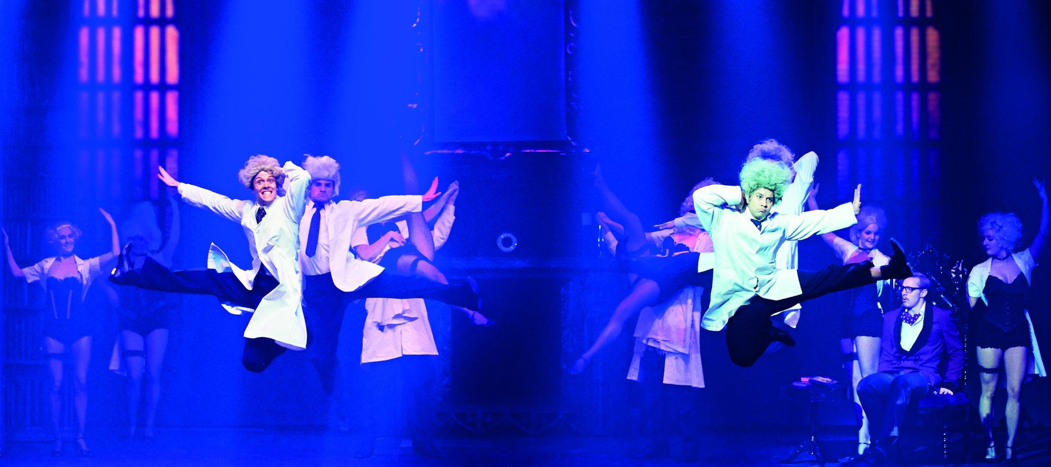 Anders Bilberg i Young Frankenstein på Fredericia Teater