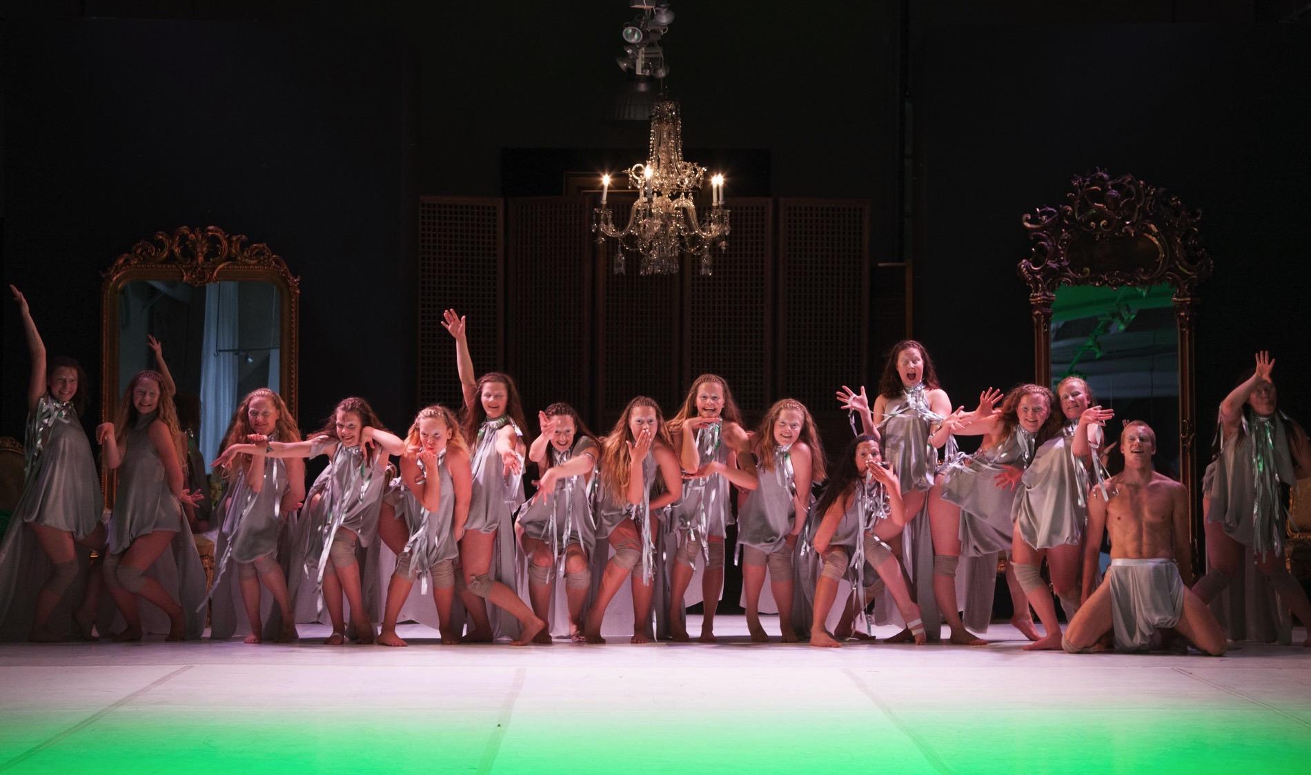 Danseuddannelsen 2014-2015