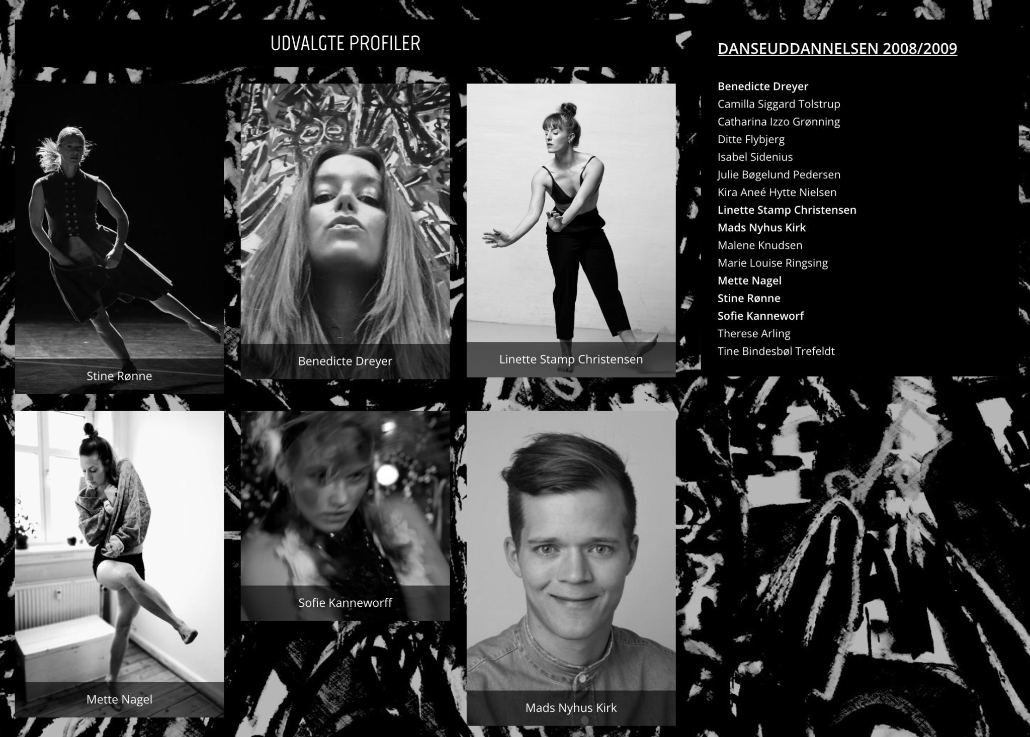 Danseuddannelsen 2008/2009