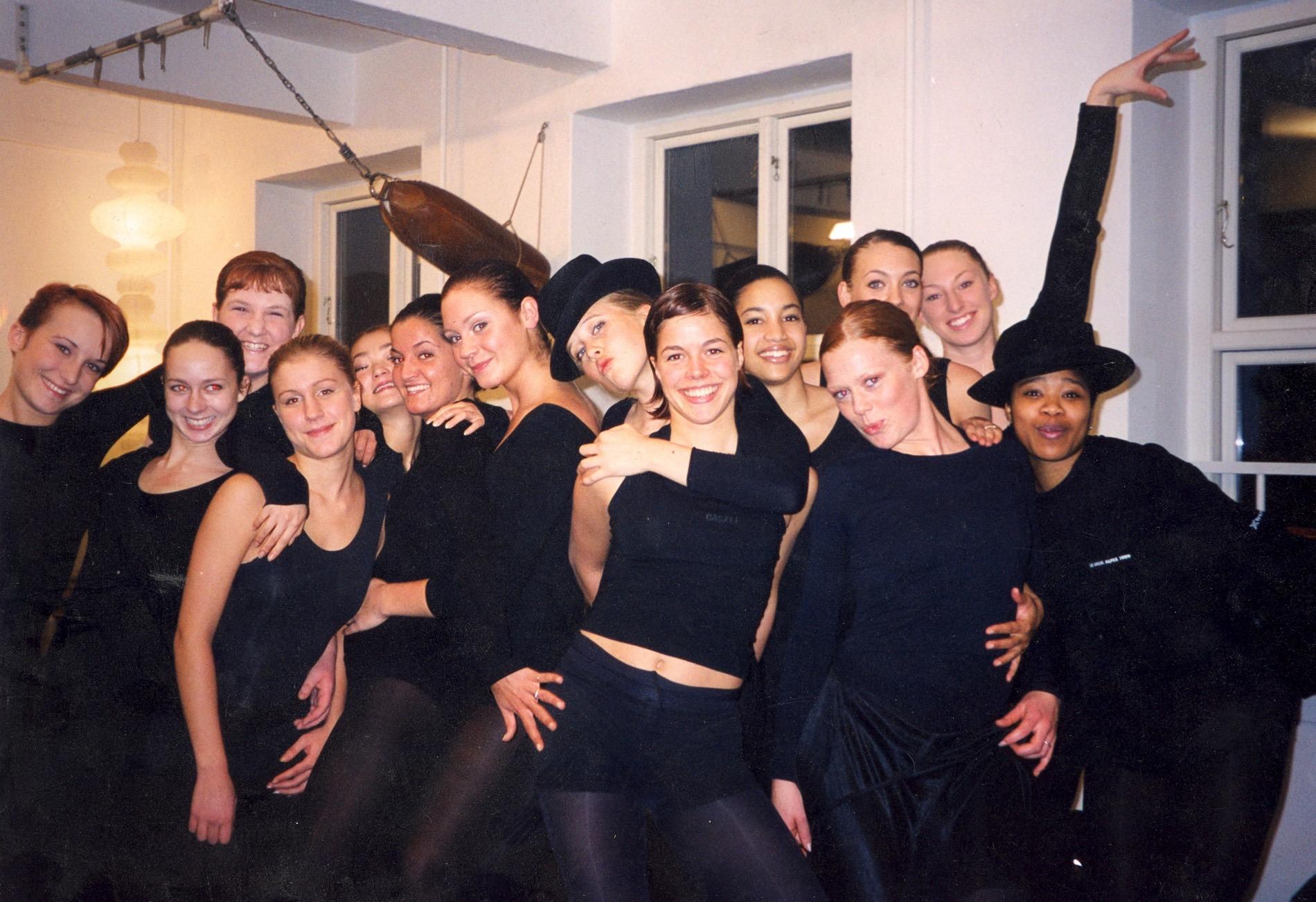 Danseuddannelse 2001 - 2002