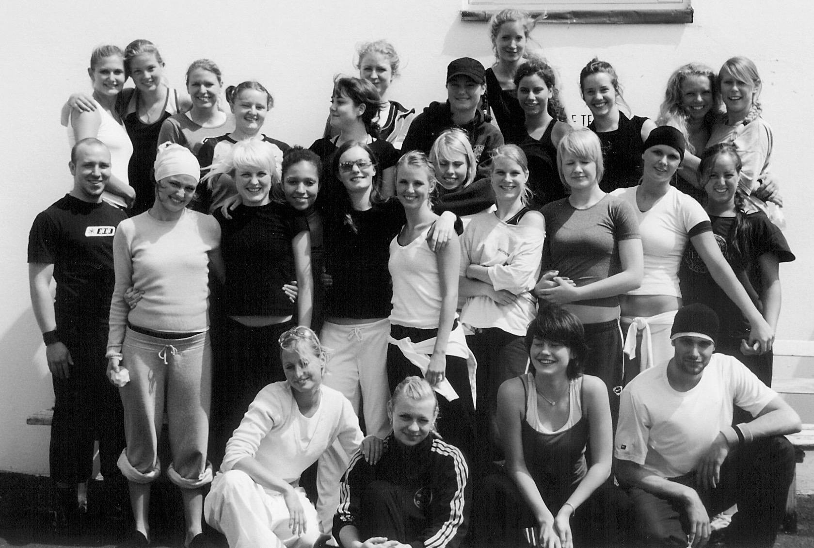 Danseuddannelsen 2002-2003