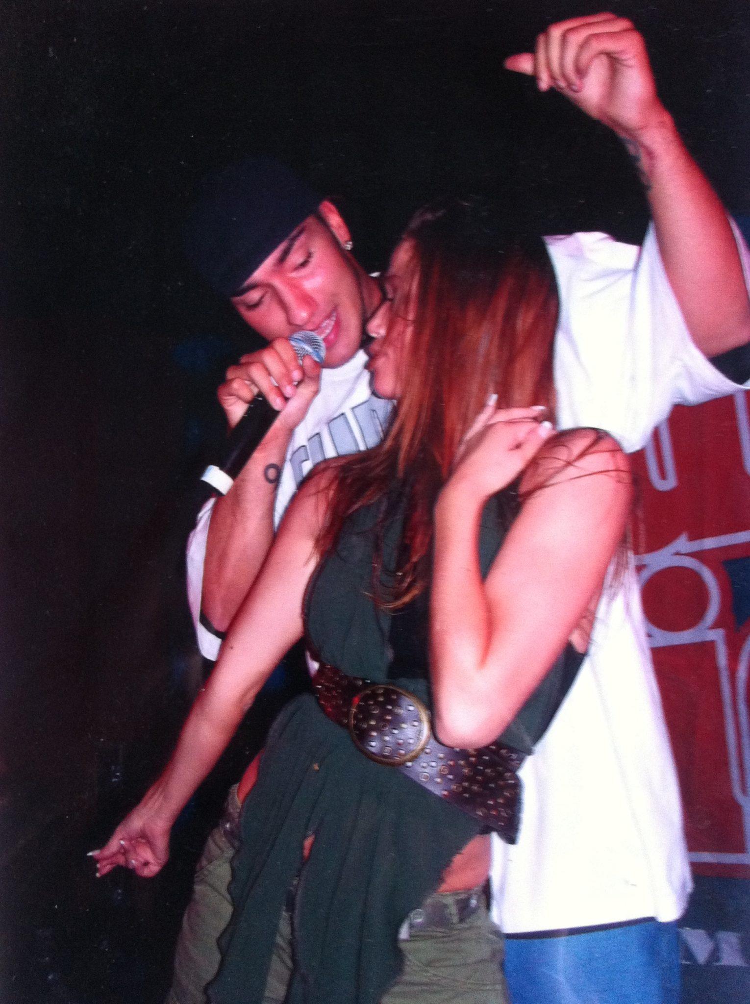 Mette Truelsen danser for Joey Moe 2006