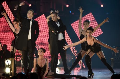 Mette Truelsen danser for Nick & Jay DMA 2007