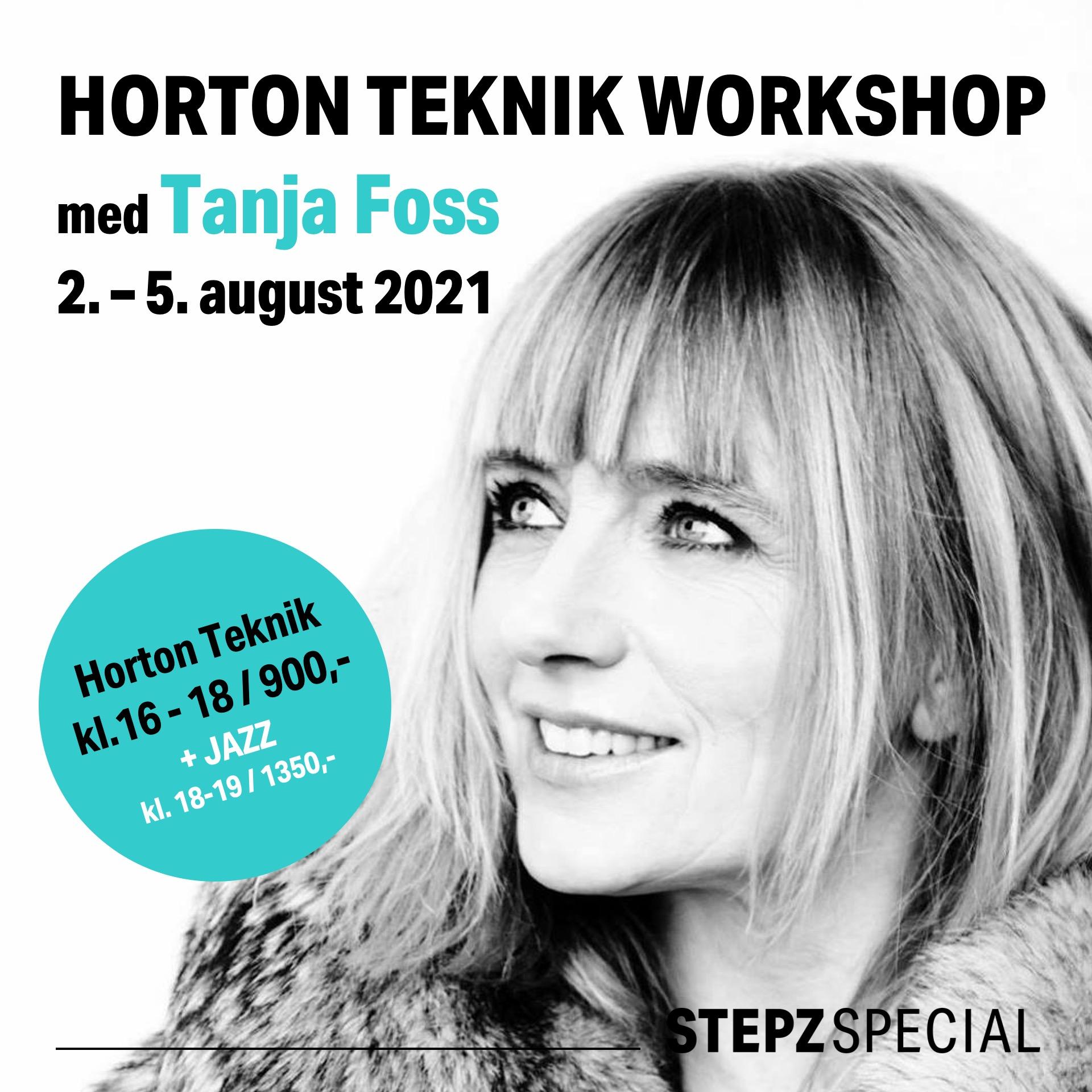 STEPZ Horton U31 med Tanja Foss