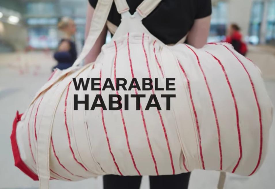 Textilskolen / WEARABLE HABITAT